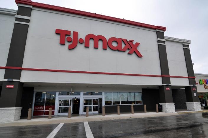 TJ Maxx Exterior Renovation